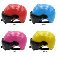 Childrens Motorcycle Helmet Electric Car Riding Safety Gear Adjustable Breathable UV Protection Supplies Accessories
