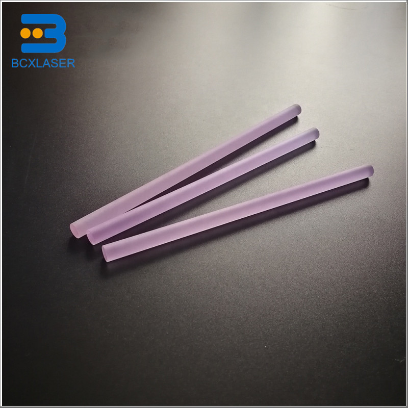7*155 High Quality Laser Crystal Rod YAG