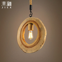 Винтажная круглая пустотелая Подвесная лампа для багажника лампа подвесная в ретро стиле абажур для ресторана/бара/для магазина кофе, дома