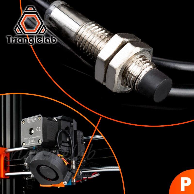 trianglelab p i n d a v2 pinda sensor cama de nivelamento automatico sensor para prusa