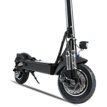 Janobike Electric scooter double drive52V 2000W with seat 10 inch road tire folding electric motorcycle pedal adult