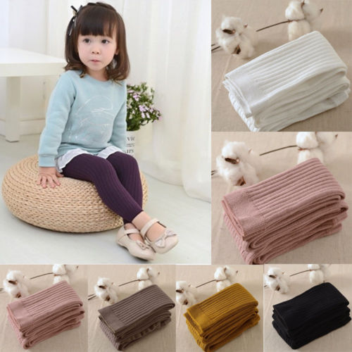 Contemplative Baby Toddler Kids Boys Girls Autumn Winter Warm 6 Colors Pantyhose Stockings Tights 0-5y Girls' Clothing