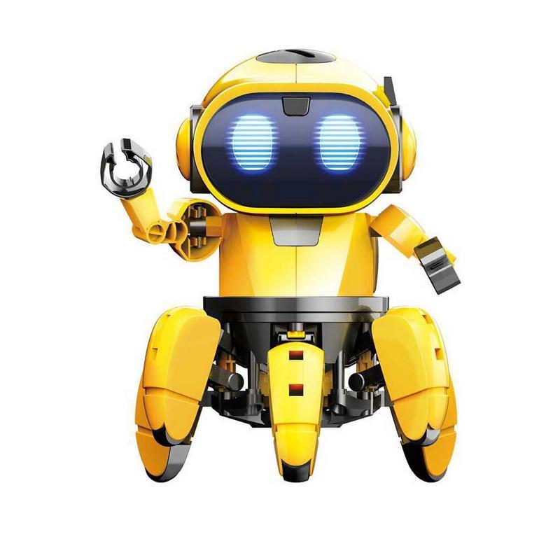 AI Intelligent Robot à monter soi-même enfants bricolage éducation modèle ensemble d'assemblage marche parler jouet Robot enfants interactif jeu Robot - 2