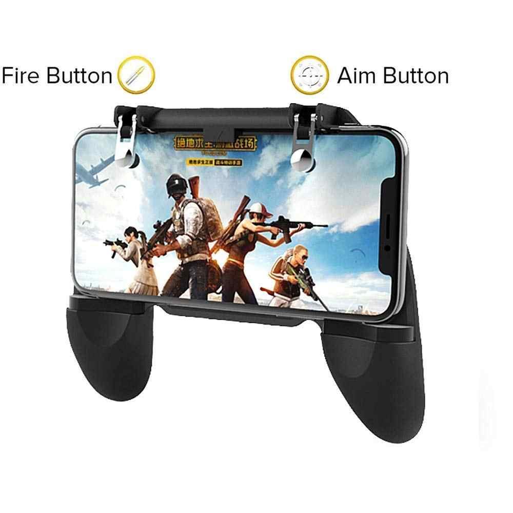 Pubg Di Động Joystick Chơi Game Kim Loại L1 R1 Nút Tất Cả Trong Một Trò Chơi Di Động Điều Khiển Giá Rẻ Lửa Pugb Cho android iPhone 6 7 8 Plus
