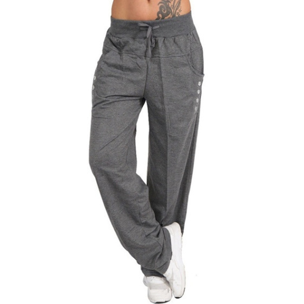 Women's   Pants   Loose cargo   pants   women Casual   Wide     Leg     Pants   Female Summer Trousers Long Fashion Sweatpants Plus Size sweatpants