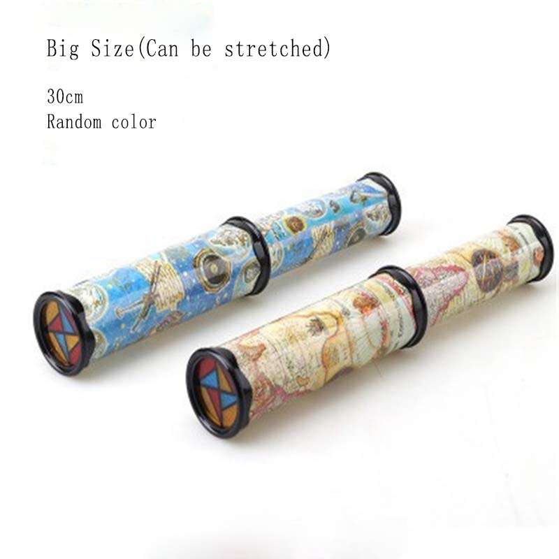 Large Size Classic Scalable Rotation Turning Retractable Children Changeable Scenery Toys Student Creative Nostalgic Gift 30cm in Kaleidoscope from Toys Hobbies