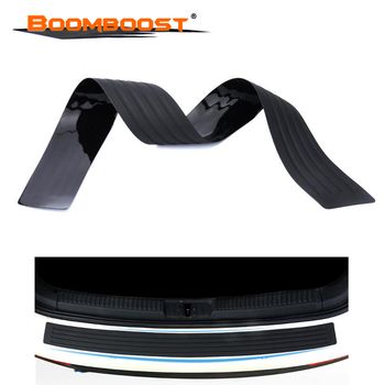 90 cm trunk bumper trim rear guard plate protective strip For Subaru Forester Outback Legacy Impreza XV BRZ Smart 2 colors image