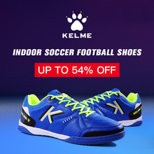 88fdeb1a3 KELME Professional Men s futzalki football shoes sneakers indoor futsal  2018 original football soccer boots