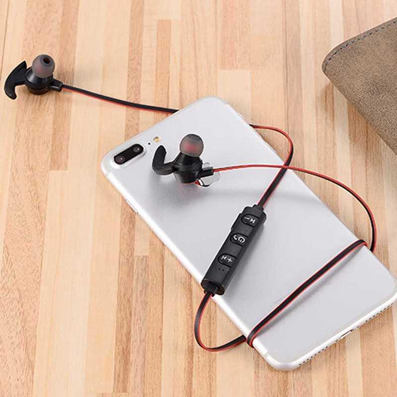الرياضة سماعة لاسلكية تعمل بالبلوتوث سماعة معلقة 4.1 ستيريو الرياضة اللاسلكية سماعات مزدوجة المحمول العالمي الموسيقى سماعات
