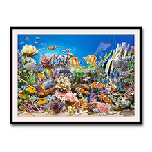 Diamond painting new style modern European cross stitch underwater world living room decorative