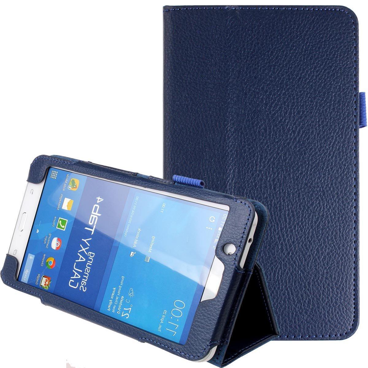 For Samsung Galaxy Tab 4 7.0 Case Folding PU Leather Stand Case Cover For Samsung Galaxy Tab 4 7.0