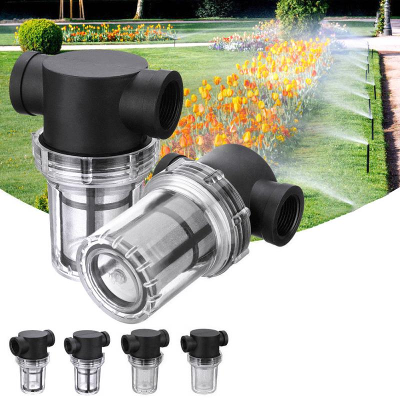 Irrigation Universal Filter Water Pump Purification Garden  Pipeline High Flow Interface Strainer