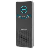 Беспроводной громкой связи Bluetooth Car Kit элегантный Hands Free передатчик для вызова автомобильный спикерфон с автомобиля Зарядное устройство