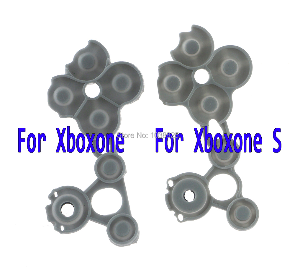 5pcs/lot Original For XBOX ONE Silicon Conductive Rubber Conductive Rubber Button For Xbox One S Controller D Pad
