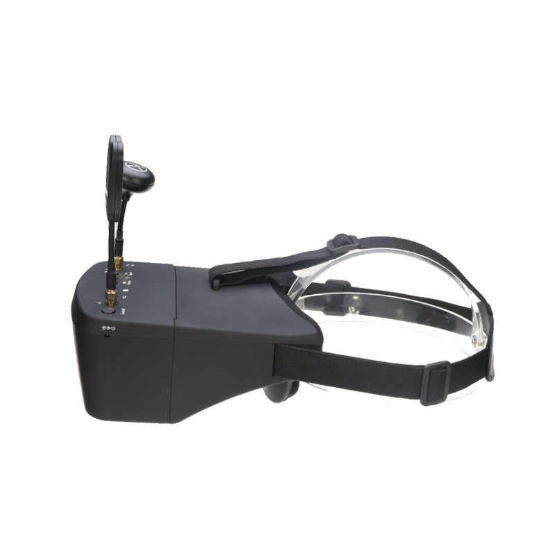 Eachine EV800D FPV Goggles 5.8G 40CH Diversity 5 Inch 800*480 Video Headset HD DVR Build in Battery For RC Models In Stock