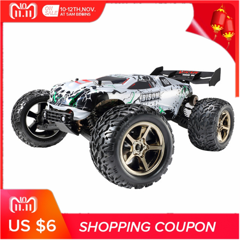VKAR RACING BISON V2 1:10 80 - 90km/h 2.4GHz 2CH 4WD Waterproof Brushless RC Truck - RTR Remote Control Car Toy For Kids все цены
