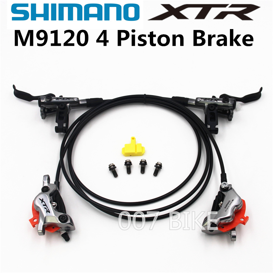 SHIMANO DEORE XTR M9120 Brake Mountain Bike XTR M9120 Hidraulic Disc Brake MTB ICE TECH Left