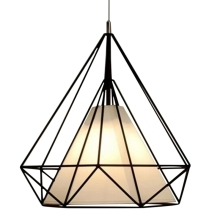 Pendant Modern Light Black Chandelier Iron Cage Hanging Vintage Led Lamp E27 Loft Industrial Chandelier Dining Room Restaurant e27 pendant light hanging lamp iron bird cage modern light for home garden coffee room decoration
