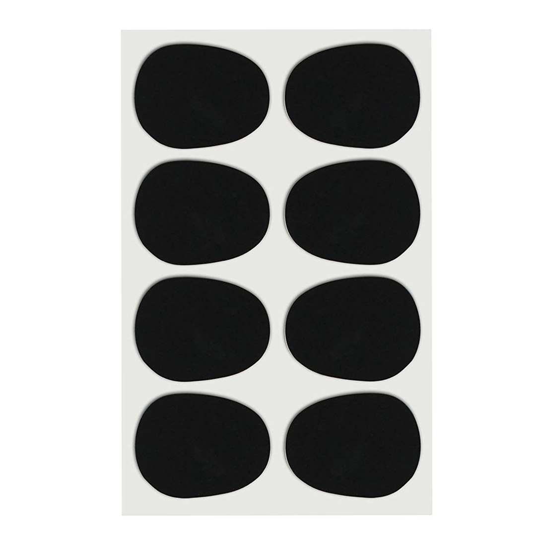 Brand New 16pcs Set 0 8mm Black Alto tenor Sax Clarinet Mouthpiece Patches Pads Cushions in Parts Accessories from Sports Entertainment