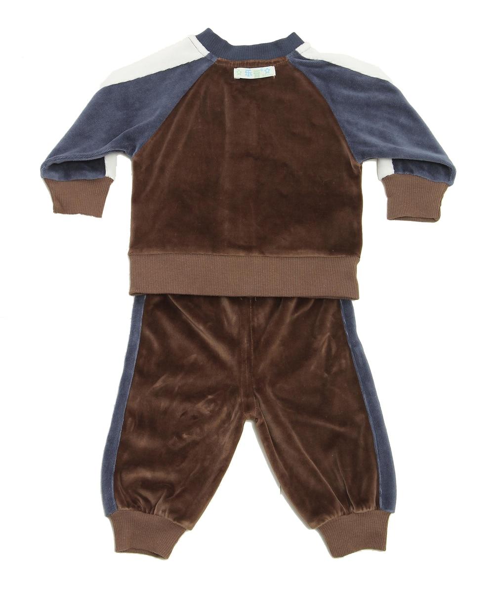 2018 Bayi Boy Lengan Panjang Pakaian Set Comel Fesyen Lelaki Pakaian - Pakaian bayi - Foto 2