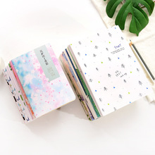 1piece Concise B5 Diary Notebook Lovely Stationery Originality Notepad Office School Supplies Random Color 60pages