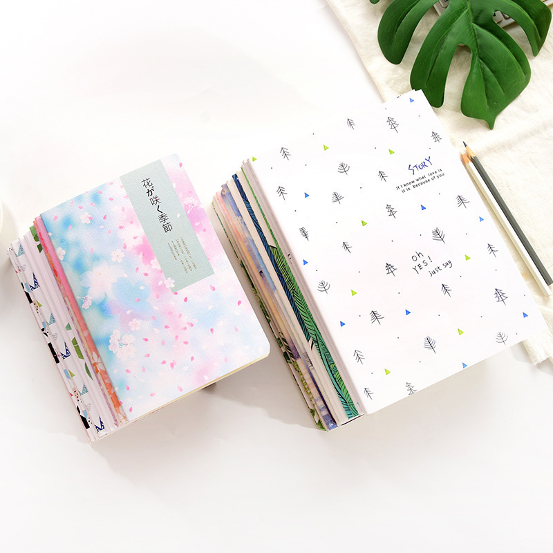 1piece Concise B5 Diary Notebook Lovely Stationery Originality Notepad Office School Supplies Random Color