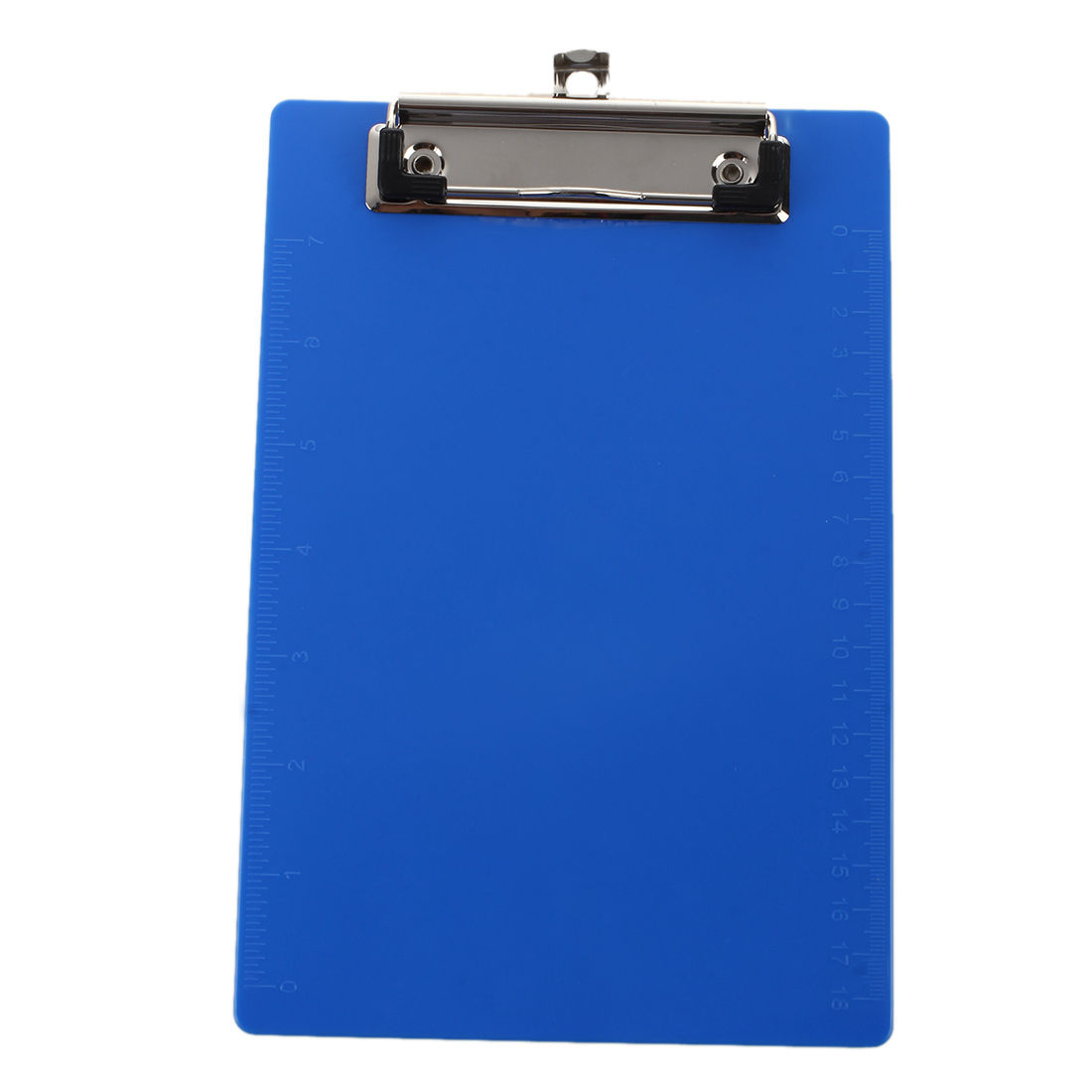 Office A5 Paper Holder Light Blue Plastic Board Clipboard 230 x 160 mm-SCLL