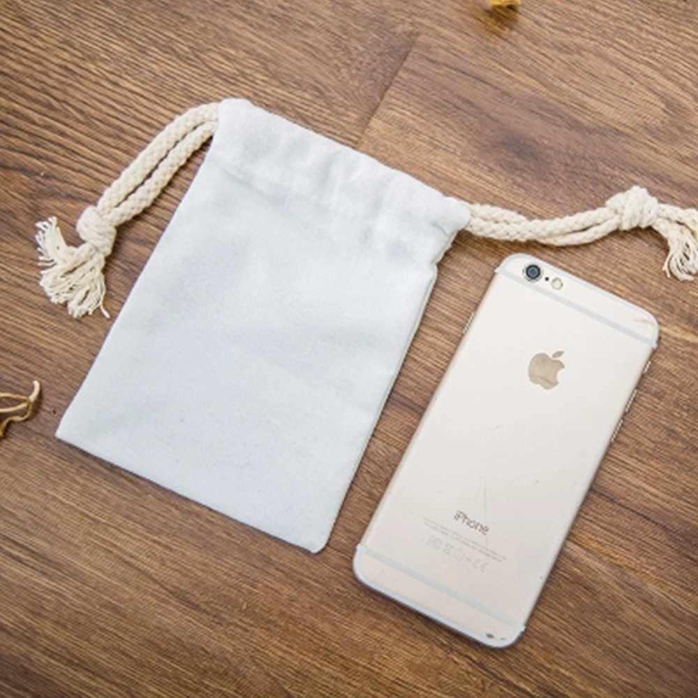 Сумка на шнурке дешевая сумка для хранения школьная сумка маленькая сумка рюкзак ткань хлопок холст миллиметр