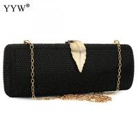 Elegant Resin Rhinestone Evening Clutch Purse Shoulder Bag for Wedding Party Prom with Chain Strap Evening Tote Bag for Phone