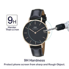 2Pack For Daniel Wellington DW 32mm 34mm 36mm 38mm 40mm 0.3mm 2.5D 9H Clear Tempered Glass