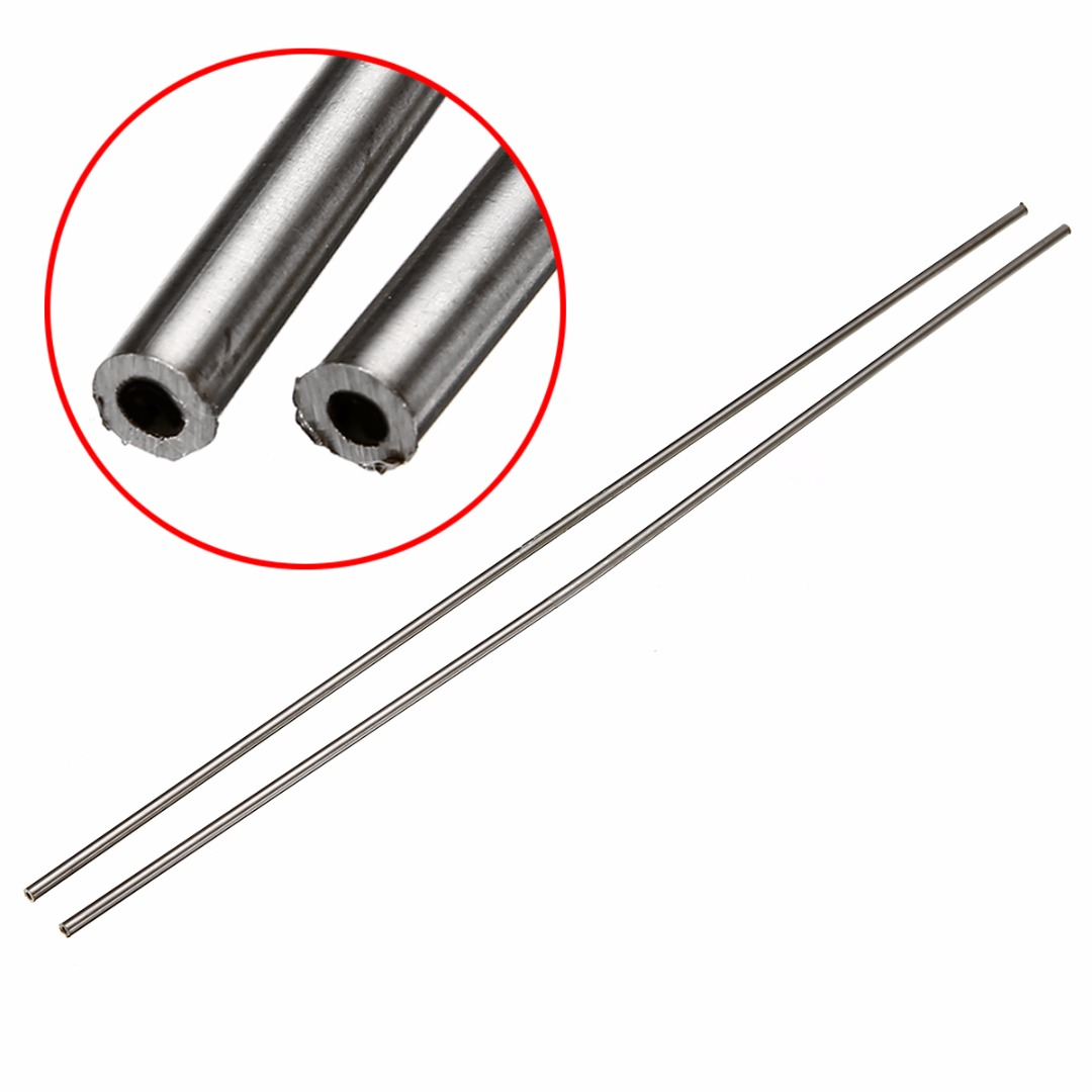 2pcs New 304 Stainless Steel Capillary Tube with Rust Protection OD 5mm ID 3mm Length 500mm2pcs New 304 Stainless Steel Capillary Tube with Rust Protection OD 5mm ID 3mm Length 500mm