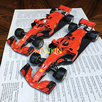 Alloy Rubber 1:18 Simulation F1 Formula Racing Model Boutique Car Model Decoration Gift Collection Free Shipping