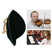 Violin Chinrest Ebony Chins Gold Screws Violin Accessories 4/4