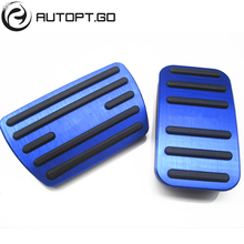 New Style Car Styling Accessories Pedal For Honda Civic 2016-2019 Accelerator/Gas Brake Pedal Pads With Logo 5 Colors for honda civic 10th 2016 2017 2018 aluminum car accelerator gas brake pedal non slip pedal plate pads cover accessories styling