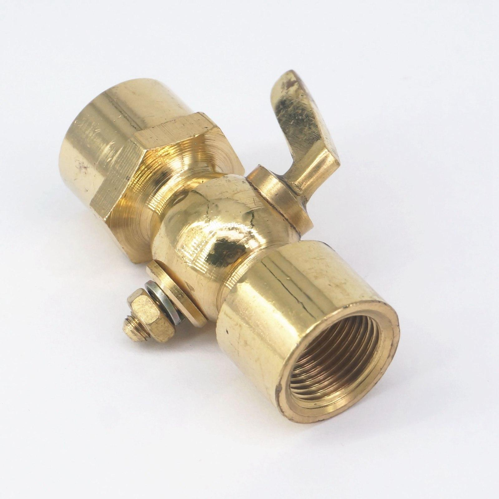 3 8 Quot Bsp Equal Equal Female Brass Drain Petcock Shut Off