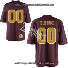 4b59249d437b4 Custom Football Jersey Personalized Your Name Number Any High School  College Logo Washington Embroidered Team For · 2 Colors Available