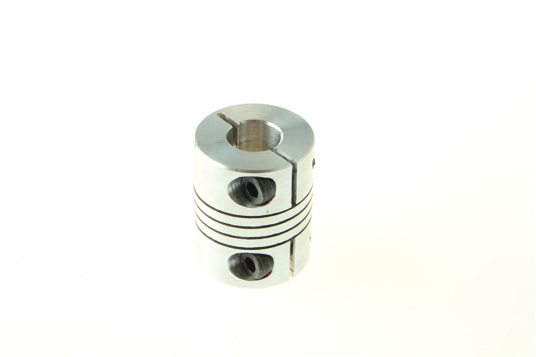 Flexible Coupling Motor Shaft Coupler 4mm X 6mm