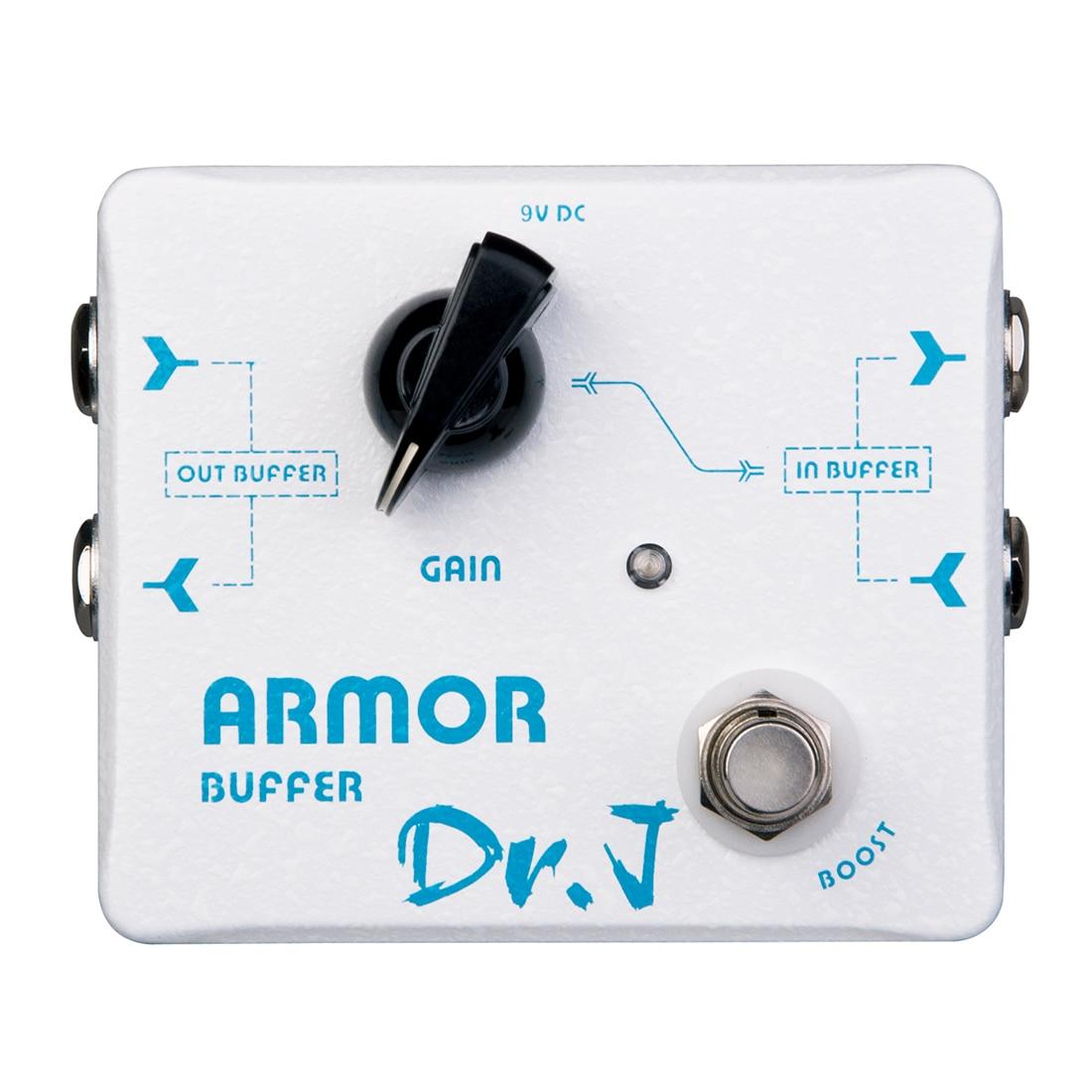 D57 armure Double tampon pédale d'effet guitare