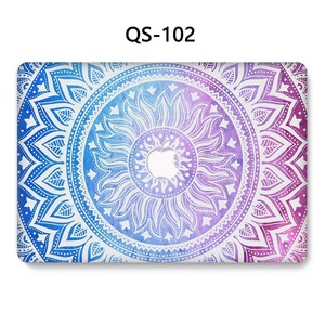 Image 2 - ノートブック MacBook ノートパソコンの新ケース Macbook Air のプロ網膜 11 12 13.3 15.4 インチスクリーンプロテクターキーボード入り江