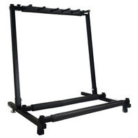 1pcs guitar holder New 5 Way Multi Folding Guitar Rack Stand by Chord For Electric Bass Acoustic