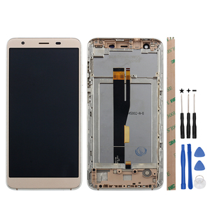 Image 5 - Alesser ل Ulefone S1 شاشة الكريستال السائل و شاشة تعمل باللمس مع الإطار الجمعية إصلاح أجزاء ل Ulefone S1 برو LCD + أدوات و لاصق