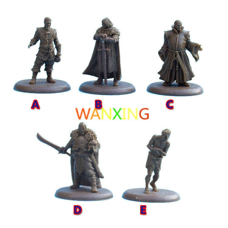 1/72 Scale Model CMON Board Role-playing Games A Song Of Ice & Fire Hero Model Resin Toys For Children Free Shipping