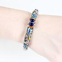 Armbanden voor vrouwen Pulseiras браслет викинга Jiashun 925 Taiyin с перегородчатой эмалью Откройте женщина гранат ювелирные изделия из корунда