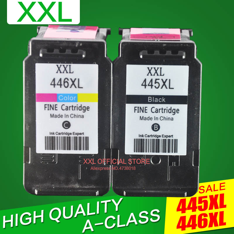 Ink-Cartridge Pg 445 CL-446 MG2540S Canon Pixma XL MX494 MG2440 for IP2840 title=
