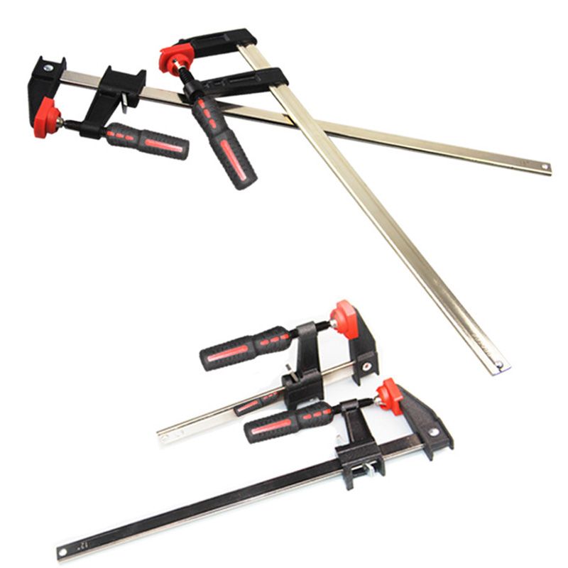 300mm 200mm Quick Release Woodworking F Clamp Bar Clip Kit Carpentry Diy Hand Tools Mayitr