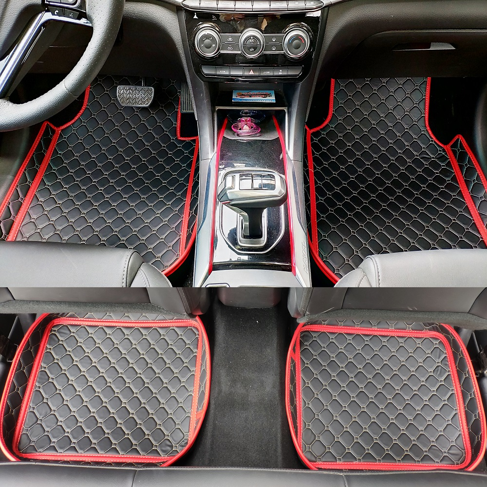 Automobiles & Motorcycles Romantic Carfunny Universal Car Floor Mats Fit For Honda Toyota Bwm Nissan 99% Cars Mats Custom Accessories 100% Guarantee Floor Mats
