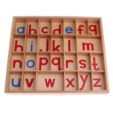 Montessori Alphabet Educational Toy Preschool Education Letter Learning Material for Kids