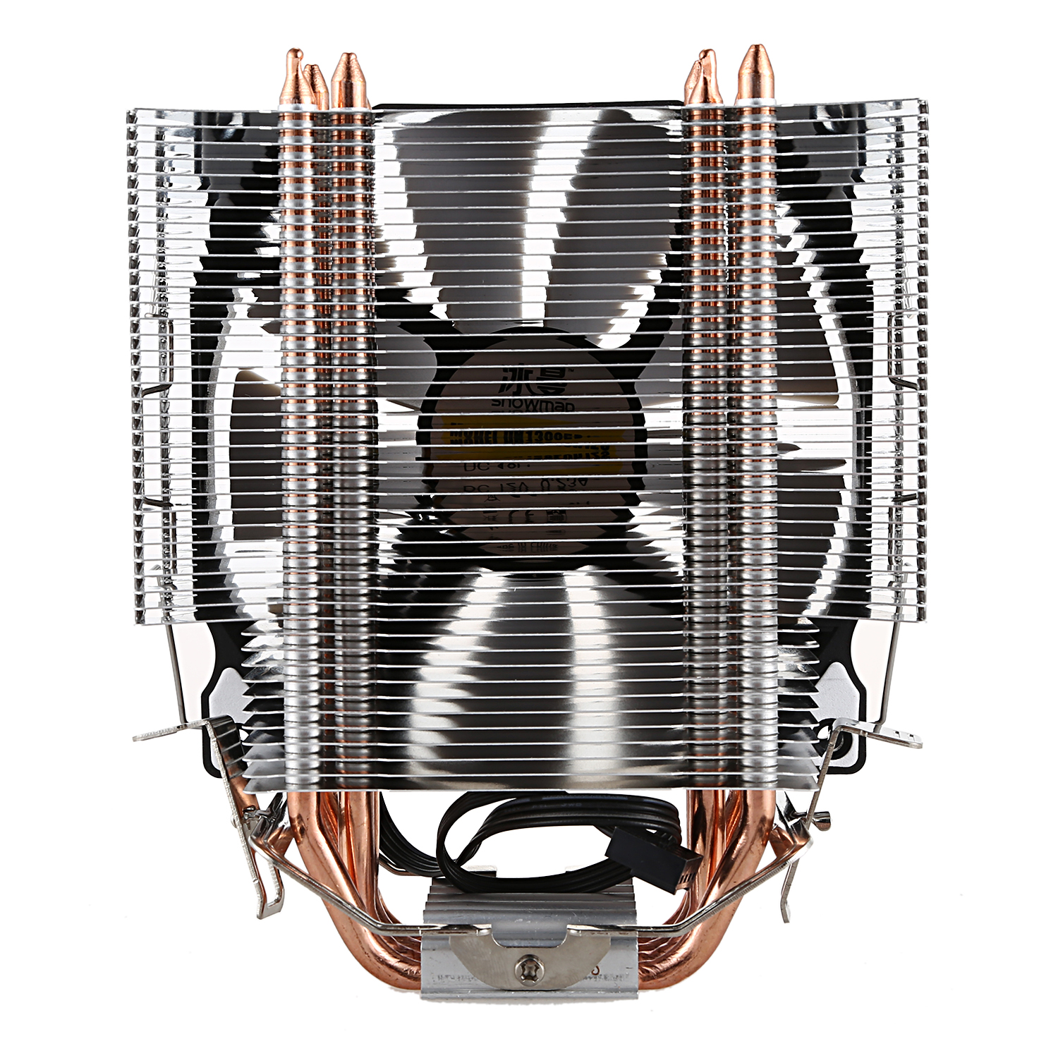 Image 2 - SNOWMAN CPU Cooler Master 5 Direct Contact Heatpipes freeze Tower Cooling System CPU Cooling Fan with PWM Fans-in Fans & Cooling from Computer & Office