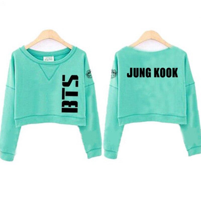 KPOP exo Bangtan Boys surrounding male female couple hedging loose long-sleeved k-pop k pop Sweatshirts Hoodies exo bts v warriors jacket
