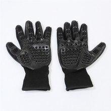 Перчатки для ухода за домашними животными собачья кошачья шерсть щетка для удаления расчески Массажная перчатка для купания принадлежности для домашних животных 1 пара